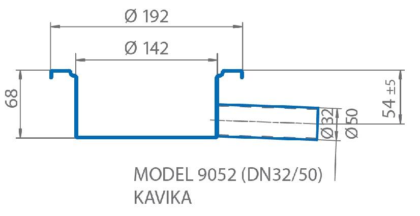 Tørrsluk 9052