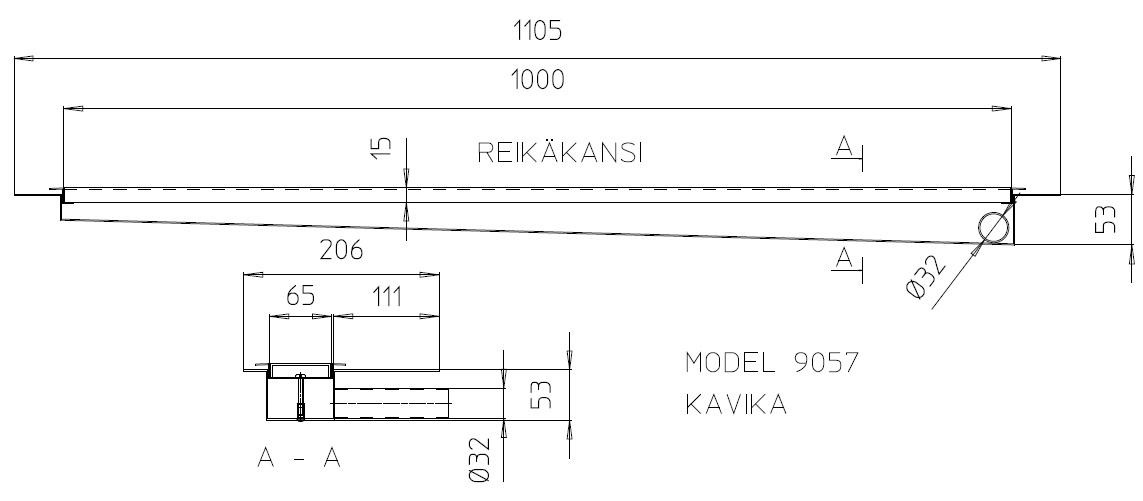 Terskelbrønn 9057