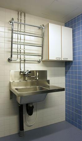 Pre-rinsing sink top 7125