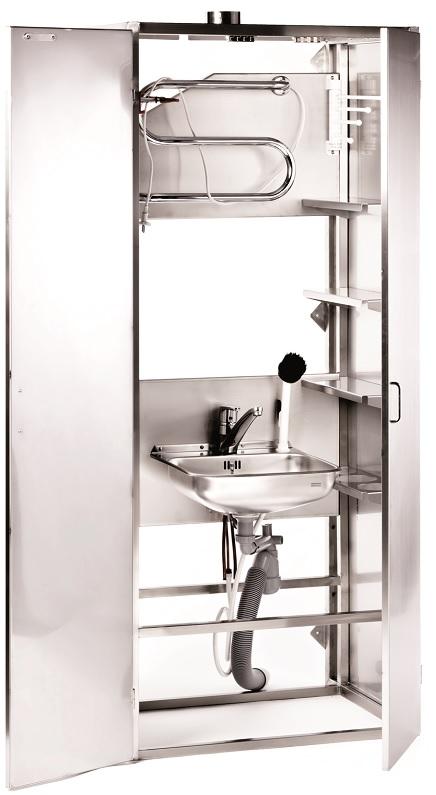 Шкаф для уборочного инвентаря 5100, 2-дверный