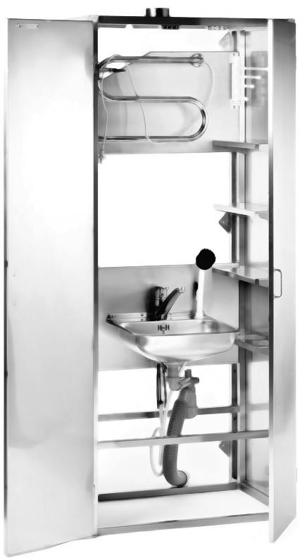 Siivouskaappi 5100, 2-ovinen